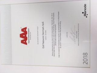 AAA Kredit-rated 2. år i træk!