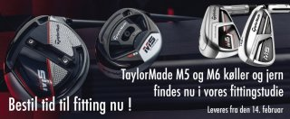 TaylorMade M5 & M6 produkter!