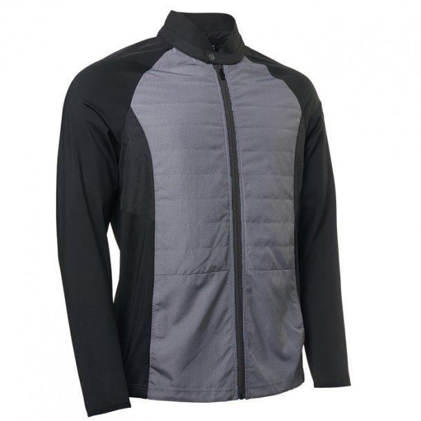 95515687 Abacus Mens Troon Hybrid Jacket Black Comb. - Herre Vindjakker ...