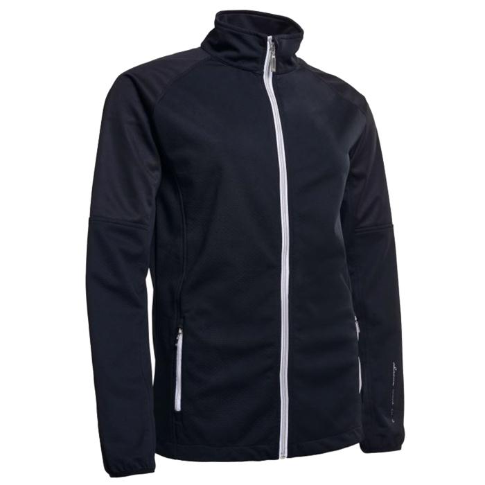 461ddd66 Abacus Ladies Arden Softshell Jacket Black - Dame Vindjakker - Golf Network  Denmark ApS