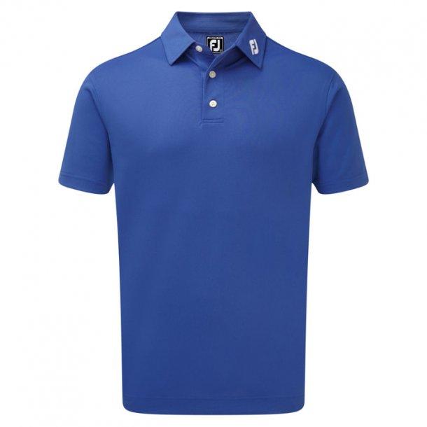 FootJoy Stretch Pique Solid Polo Blue