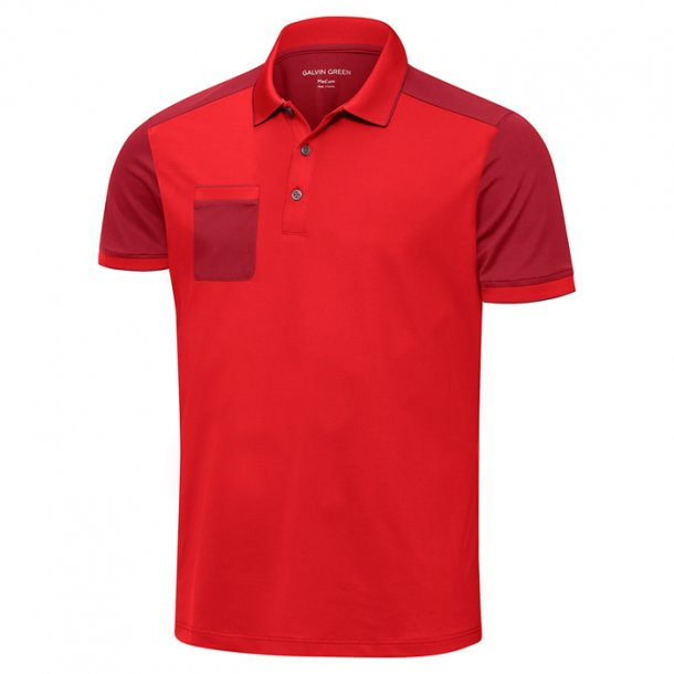 Galvin Green MAXIM Shirt V8+ Red/Electric Red