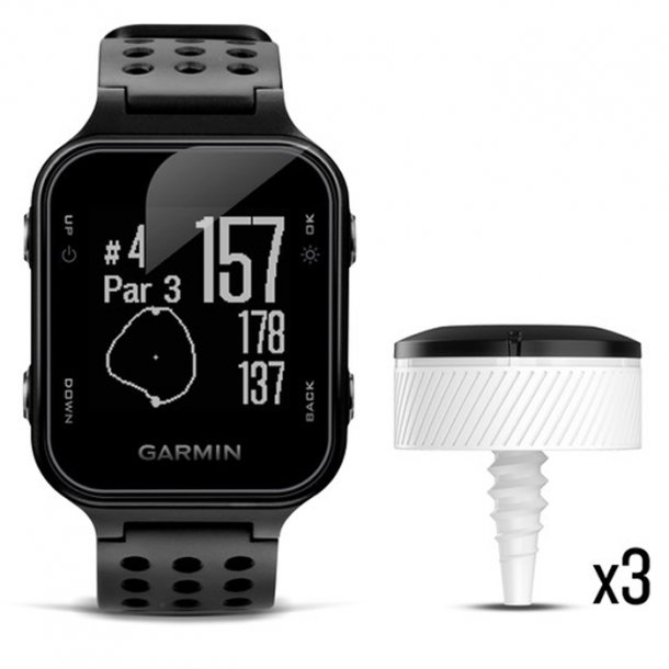 Garmin Approach S20 Ur Sort og CT10 Bundle