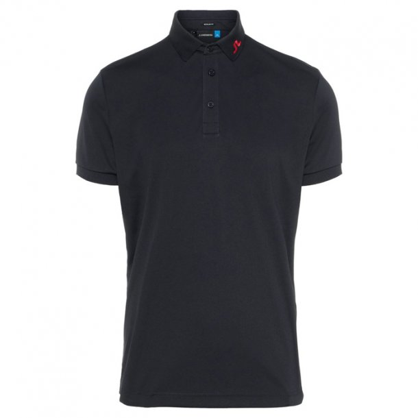 J Lindeberg KV TX Jersey Polo Black