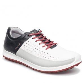 0adb479aaf1c Ecco Golf Biom Hybrid 2 White Concrete Black