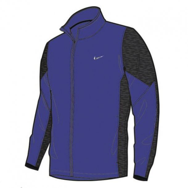 Nike Men's Shield Golf Jacket Deep Night/Black Heather/Black