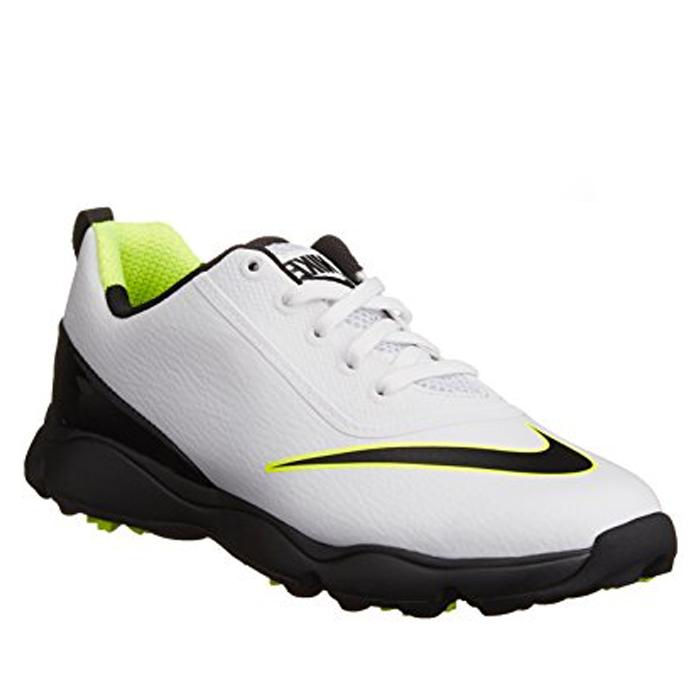 new concept 957b0 a6081 Nike Junior Control Golf Shoes White Black - Sko Juniorer - Golf Network  Denmark ApS
