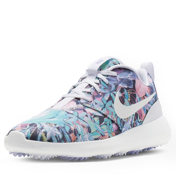 b21f0c21 Nike Roshe G Women's Golf Shoes Purple Dawn/White/Metallic White - Sko Damer  - Golf Network Denmark ApS
