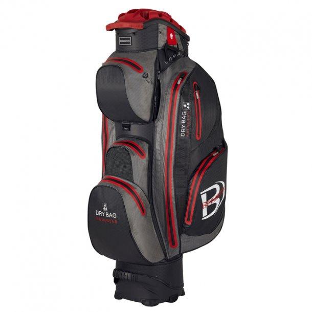 Bennington QO14 DryBag Black/Canon Grey/Red