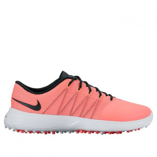 Nike Women�s Lunar Empress 2 Golf Shoe Lava Glow/Black-White