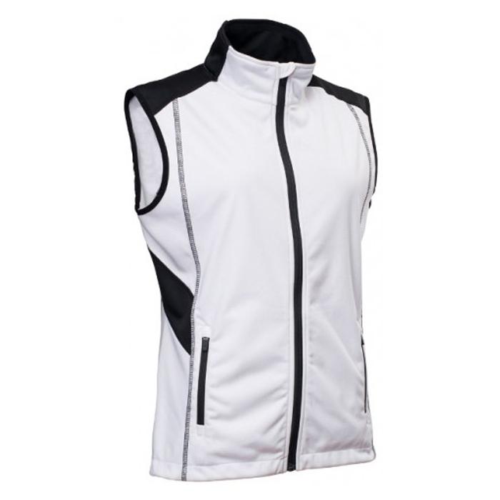 11c1b3a9 Abacus Ladies Aberdeen Softshell Vest White - Dame Vindjakker - Golf  Network Denmark ApS
