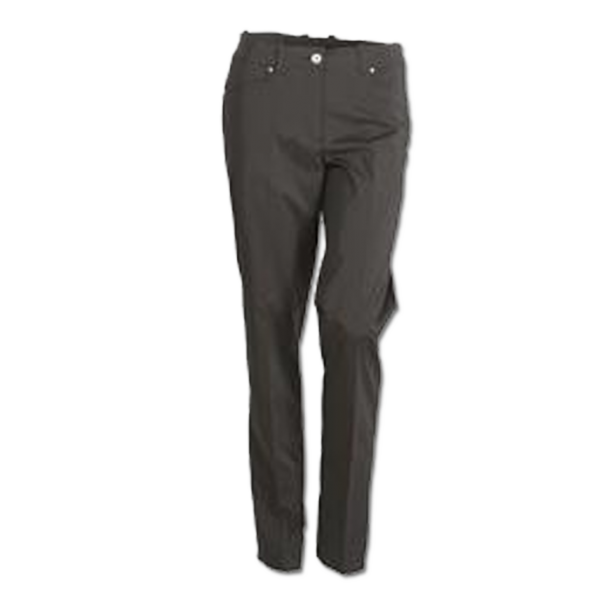 Abacus Ladies Cleek Stretch Bukser Sort
