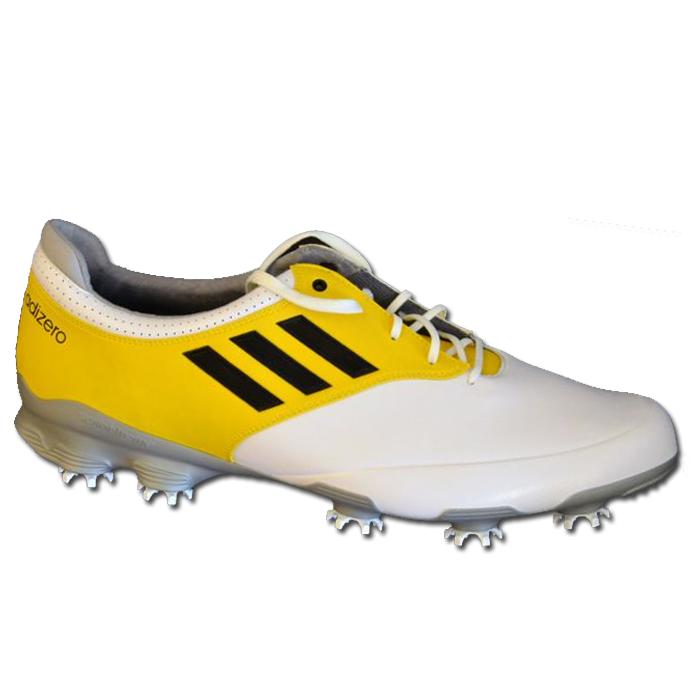 buy popular 8026a 17284 Adidas Adizero Tour HvidGul - Sko Herrer - Golf Network Denm