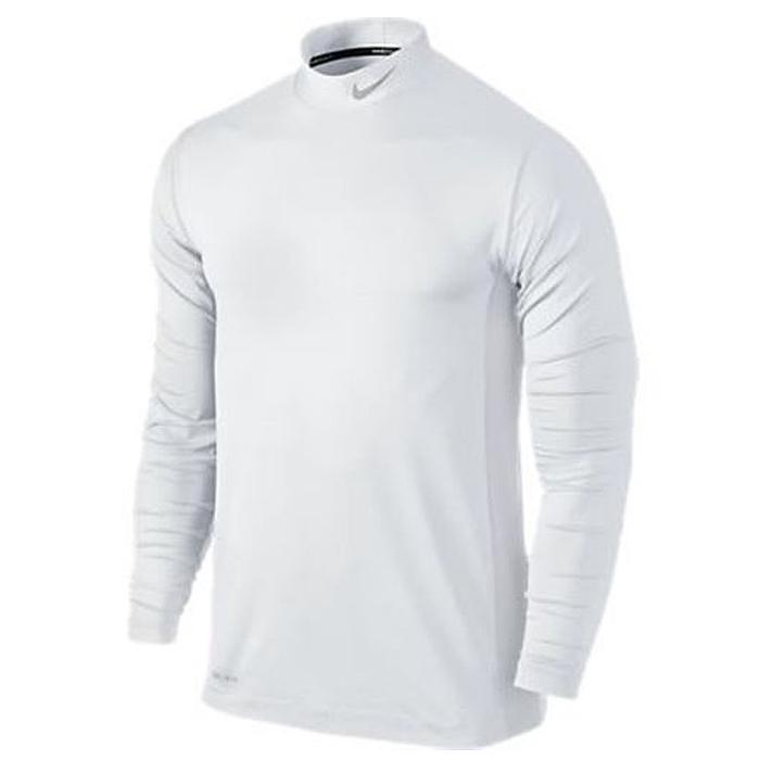 Nike Golf Core L/S Base Layer White/Metallic Silver - Golf Baselayer - Golf  Network Denmark