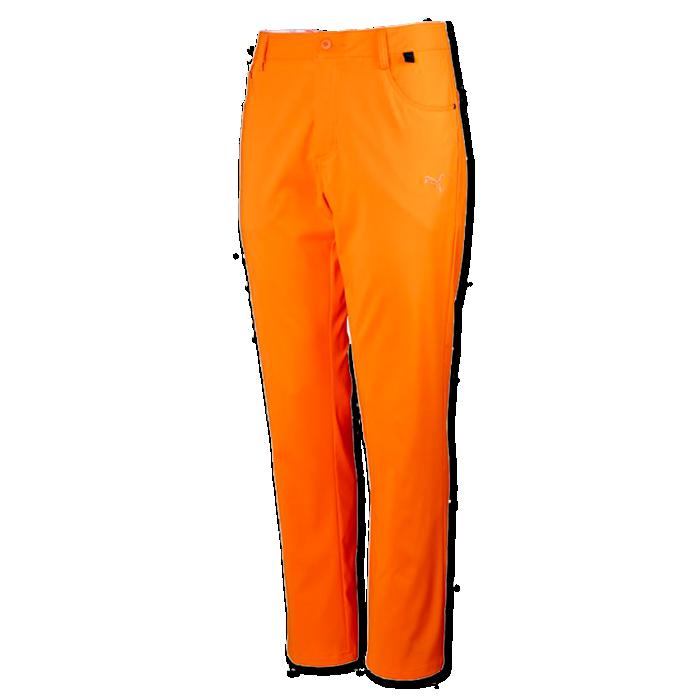 01acc980 Puma 6 Pkt Pant Orange - Herre Bukser - Golf Network Denmark ApS